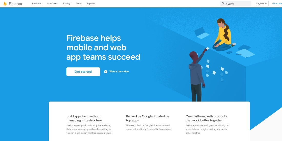 How to create a Firebase project